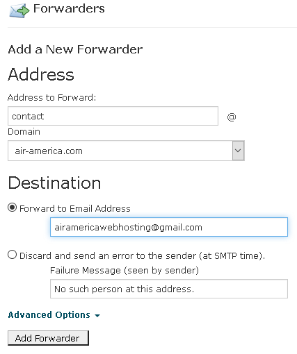 domain-email-forward