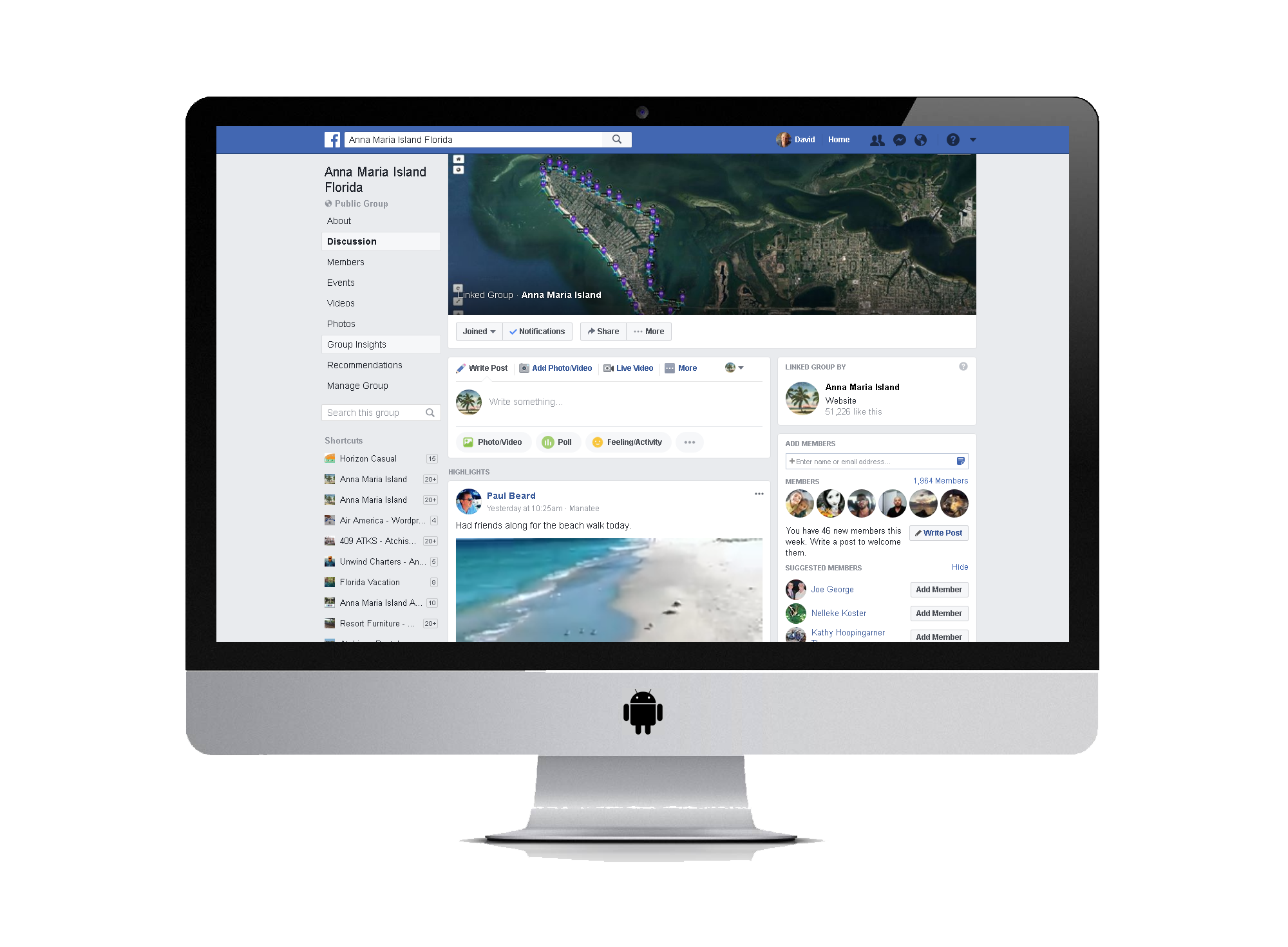 Anna Maria Island Facebook