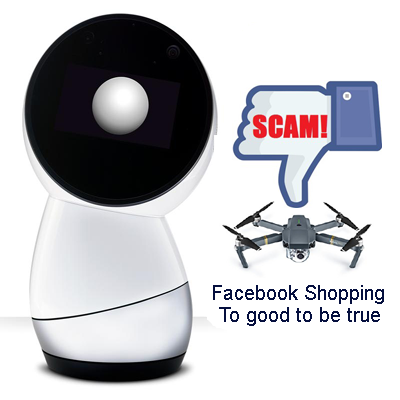 Beware of Facebook store scams